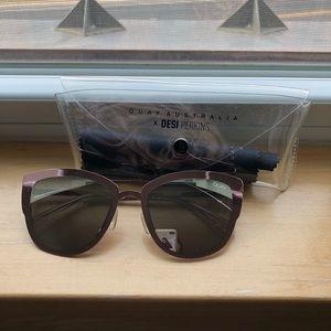 Quay Pink Super Girl Sunglasses
